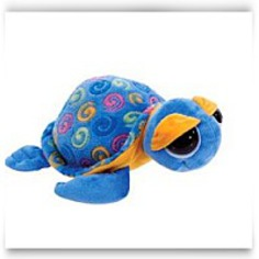 Swirl Print Blue Sea Turtle 15