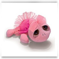 Swirly Pink Peeper Turtle With Tutu