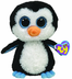beanie boos waddles penguin blue eyes