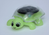 solar powered turtle green