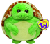 beanie ballz zoom turtle plush