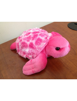 Bright Turtle Pink Mini Flopsie 8
